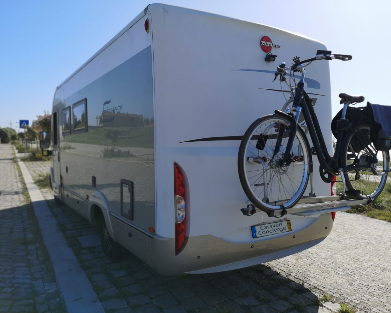 Includes bike rack. eBike as an option.